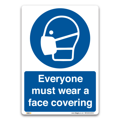 Must wear face covering
